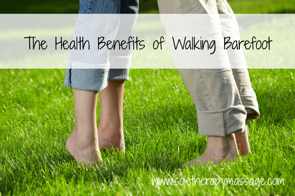 Health Benefits of Walking Barefoot Facebook Image